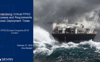 Sevan Marine – Speaker at the FPSO Europe Congress 2018
