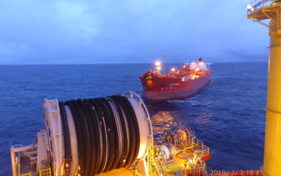 Safe Offloading on Western Isles FPSO