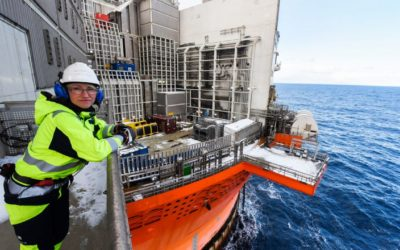 Never scared on the Goliat FPSO