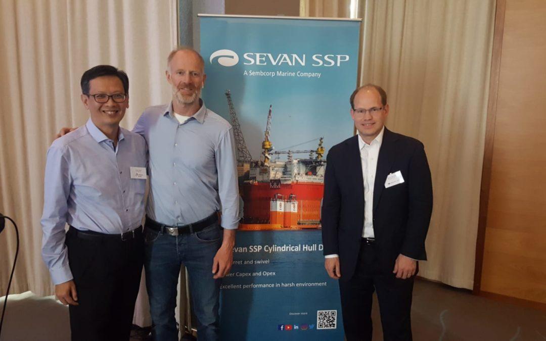 Børge Ousland spoke at the Sevan User Forum 2019