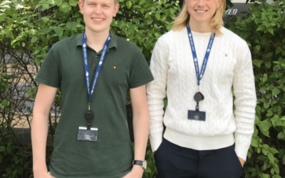 Meet Sondre and Joakim – Sevan summer interns 2019